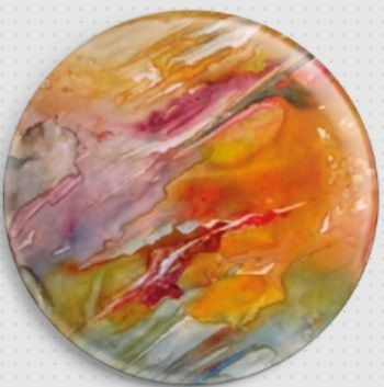 Abstract Life By Rosie Brown Licensed Art Needle Minder