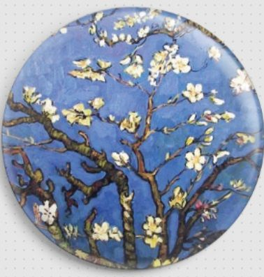 Almond Tree Branches By Van Gogh Needle Minder