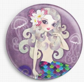 Amethyste By Sandra Vargas Licensed Art Needle Minder