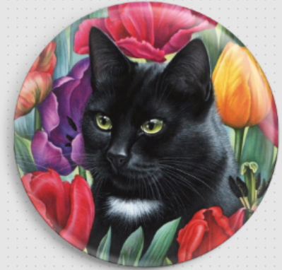Amongst The Tulips - Right By Irina Garmashova-Cawton Needle Minder