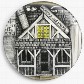 Bookshelf By Colin Thompson Licensed Art Needle Minder No: 6b