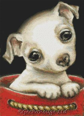 Chihuahua By Tanya Bond Cross Stitch Kit
