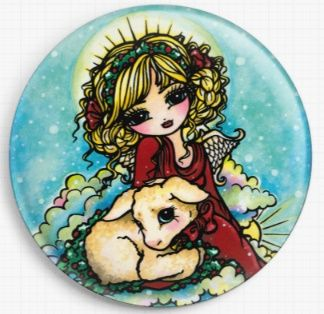 Christmas Miracle By Hannah Lynn Licensed Art Needle Minder