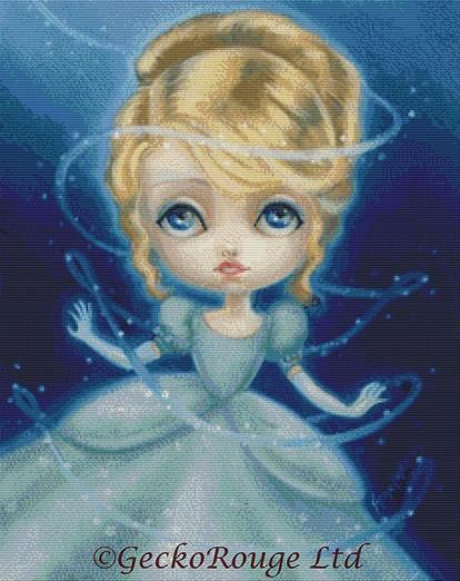 Cinderella By Simona Candini Cross Stitch Kit