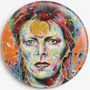 David Bowie By Sara Bowersock Needle Minder