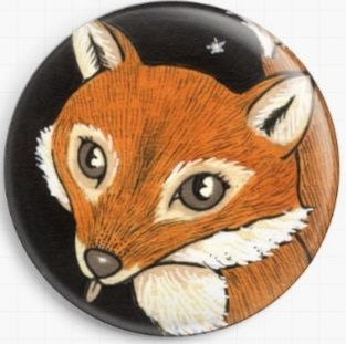 Felicity Fox By Anita Inverarity Licensed Art Needle Minder