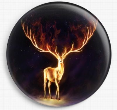 Fire Walker by JoJoes Art Licensed Art Needle Minder