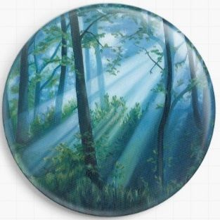 Forest Light By Emily Luella Licensed Art Needle Minder