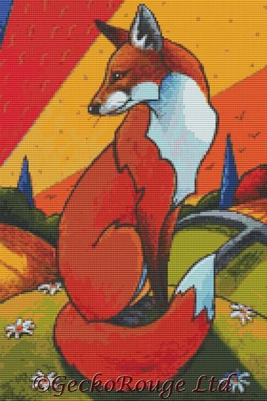 Foxes Tale By Lesley D Mckenzie Cross Stitch Kit (LDMFXTL)