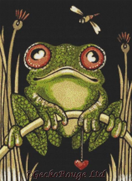 Fred By Anita Inverarity Cross Stitch Kit (AIVFRE19)