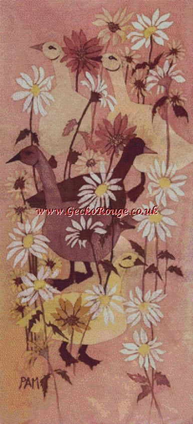 Geese by Pamela Muller Cross Stitch Kit