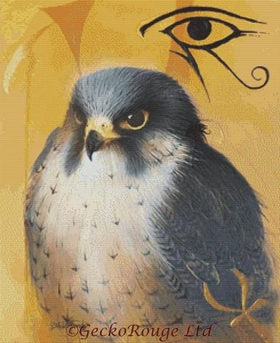 Horus By David Finney Cross Stitch Kit