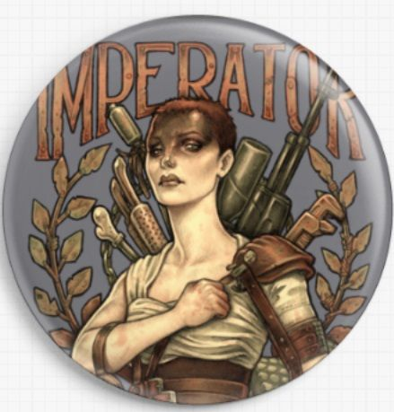 Imperator Furiosa  By Medusa Dollmaker Needle Minder