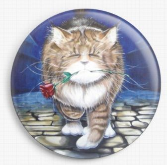 Midnight Casanova By David Smith Licensed Art Needle Minder
