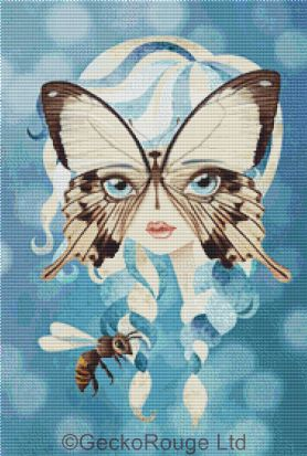 Niella by Sandra Vargas Cross Stitch Kit