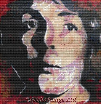 Paul McCartney By Sara Bowersock Cross Stitch Kit - Beatles (3)