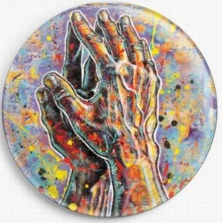 Praying Hands By Sara Bowersock Needle Minder