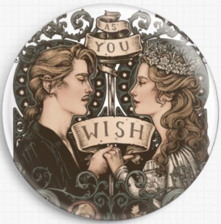 Princess Bride LIMITED EDITION By Medusa Dollmaker Needle Minder