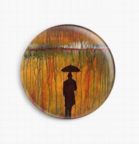 Rainmaker By Robert Bretz Licensed Art Needle Minder