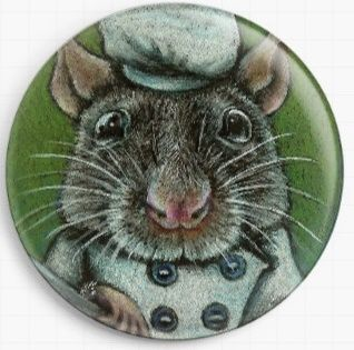 Ramsey Rat By Tanya Bond Licensed Art Needle Minder
