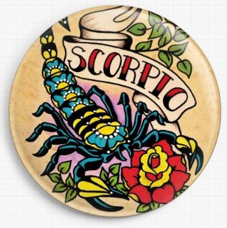 Scorpio By Illustrated Ink Licensed Art Needle Minder