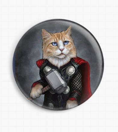 Thor by Jenny Parks Licensed Art Needle Minder