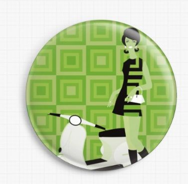 Vera Vespa By Kerry Beary Licensed Art Needle Minder