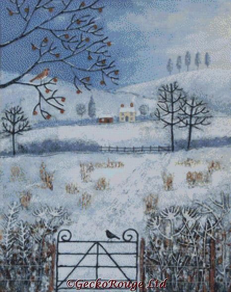 Winter Fields By Jo Grundy Cross Stitch Kit (JGWINFD)