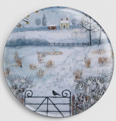 Winter Fields By Jo Grundy Needle Minder