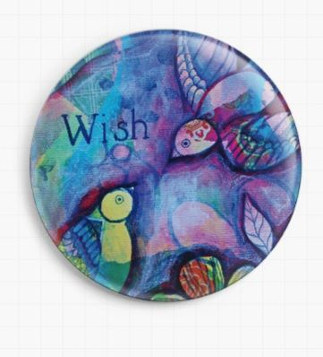 Wish By Pamela Varacek Licensed Art Needle Minder